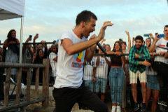 El concierto más íntimo, por sorpresa: ante 500 personas en un bar de O Grove
