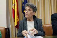 Rosa María Mateo en una acto de la Comunidad de Madrid.