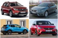 Sandero, León, Arona, Corsa... estos son los coches más vendidos en España