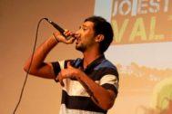 Valtonyc en una actuación enMallorca de hace varios años.