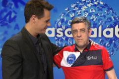 Christian Gálvez y Jero, el concursante eliminado de Pasapalabra en Telecinco tras más de 120 programas