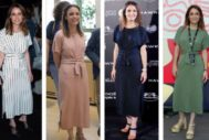 Andrea Levy con su vestido 'repe'