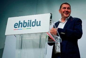 El líder de EH Bildu Arnaldo Otegi.