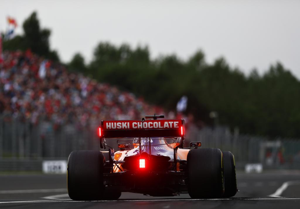 BUDAPEST, HUNGARY - AUGUST 02: Carlos <HIT>Sainz</HIT> of Spain driving the (55) <HIT>McLaren</HIT> F1 Team MCL34 Renault leaves the pitlane during practice for the F1 Grand Prix of Hungary at Hungaroring on August 02, 2019 in Budapest, Hungary. (Photo by Lars Baron/Getty Images)