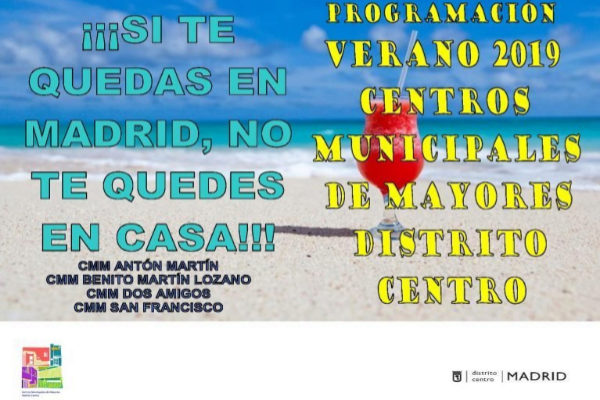 El último cartel del Ayuntamiento de Madrid.