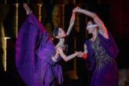 Representación de la obra 'Antígona' por el ballet de Víctor Ullate.