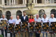 Momento de la presentación en el palacio provincial de Jaén.