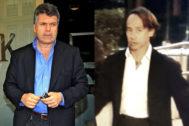 Los empresarios Juan Villalonga (izqda.) y Adrián de la Joya.