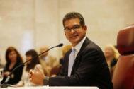 Pedro Pierluisi habla ante la Cámara Baja de Puerto Rico.