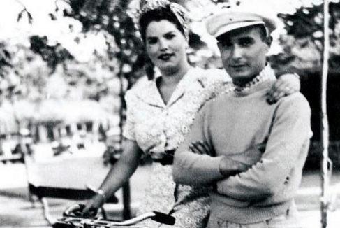 El agente Garbo y su esposa en España hacia 1940