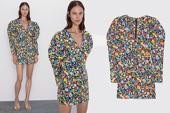 Zara Crea Un Vestido Que Parece De Alta Costura Y