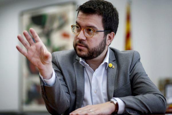 Pere Aragonès reclama reforzar la mayoría parlamentaria.