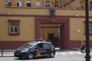 Comisaría de Campo Madre de Dios, donde está custodiado el detenido
