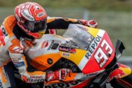 Brno (Czech Republic).- Spanish MotoGP rider Marc <HIT>Marquez</HIT> of Repsol Honda Team during the free practice of the Motorcycling Grand Prix of the Czech Republic, 03 August 2019. The race will take place on 04 August 2019. (Motociclismo, Ciclismo, República Checa) EPA/