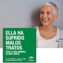 Uno de los anuncios en prensa de la campaña de la Junta.