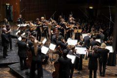 La Mahler Chamber Orchestra, que cuenta con siete españoles, durante un concierto.
