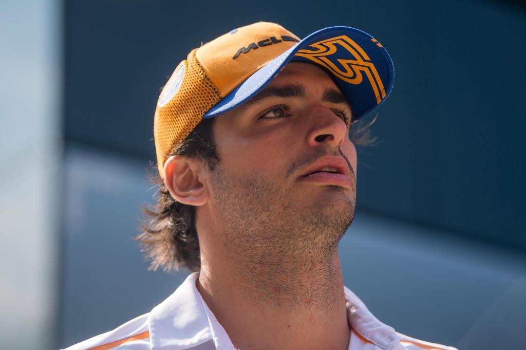Mogyorod (Hungary).- Spanish Formula One driver <HIT>Carlos</HIT>...