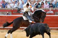 Andrés Romero, a hombros en el cierre de Huelva
