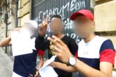"""La celebración de 3 de los acusados en Bilbao tras quedar en libertad: """"Buena fiesta, agur"""""""