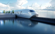 Recreación de un hyperloop, el tren supersónico del futuro.