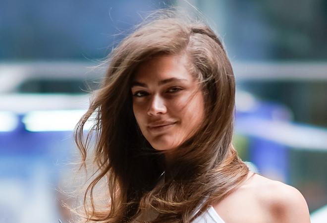 La modelo brasileña Valentina Sampaio.