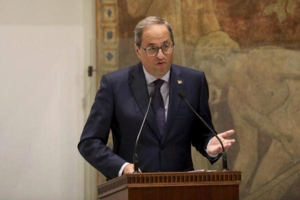 """Torra anima a la CUP a pactar presupuestos para """"avanzar hacia la república"""""""