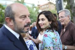 Pedro Rollán e Isabel Díaz Ayuso.