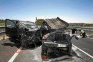 Imagen de archivo de un accidente en Vilafranca