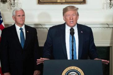 """Donald Trump llama a """"condenar"""" el supremacismo blanco tras el doble tiroteo masivo"""