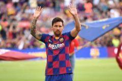 Leo Messi, antes del Gamper.