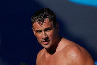 Ryan Lochte, durante el Campeonato de Estados Unidos.