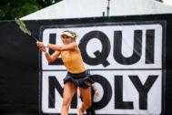 Paula Badosa en las semifinales del torneo de Karlsruhe 2019