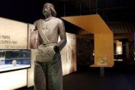 Una de las salas del Museo Arqueológico de Alicante en las que se expone 'Irán, cuna de civilizaciones'
