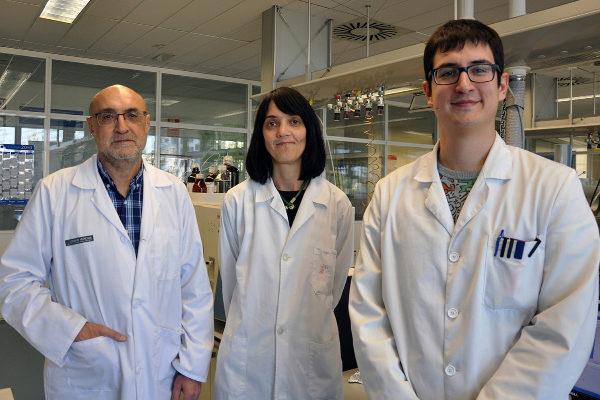 Tres de los investigadores que han llevado acabo el estudio