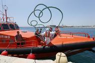 Una embarcación de Salvamento Marítimo en Alicante, en imagen de archivo
