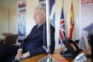 Simon Manley, embajador saliente de Reino Unido en España.
