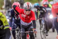 Houffalize (Belgium), 28/04/2019.- (FILE) A file picture taken on 28 April 2019 of Belgian rider Bjorg <HIT>Lambrecht</HIT> of the Lotto Soudal team in action during the Liege Bastogne Liege one day classic cycling race near Houffalize, Belgium. <HIT>Lambrecht</HIT> of Lotto Soudal team has died aged 22 on 05 August 2019 during the 3rd stage of the Tour de Pologne after a heavy fall. (Ciclismo, Bélgica, Lieja) EPA/