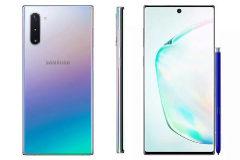 Una de las imágenes filtradas del Samsung Galaxy Note 10