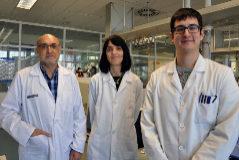 Tres de los investigadores que han participado en el estudio de Fisabio y el IIS La Fe.
