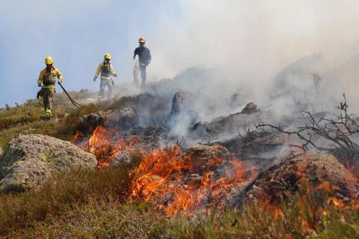 Incendios Sierra de Madrid.