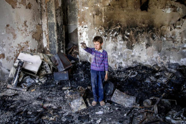 -FOTODELDIA- EPA1809. <HIT>KABUL</HIT> (AFGANISTÁN).- Un niño afgano...