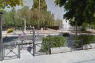 Parque Félix Rodríguez de la Fuente, en Novelda, donde ocurrieron los hechos.
