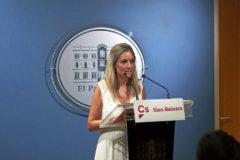 Patricia Guasp, portavoz adjunta de Ciudadanos en el Parlament.