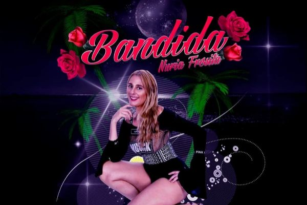 Nuria Fresita en la portada de Bandida, la criticada canción del...