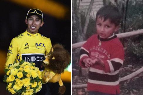 Egan Bernal, el niño predestinado de Zipaquirá que ganó el Tour