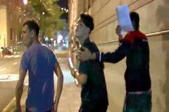 Tres de los acusados por violación grupal, que han quedado en libertad