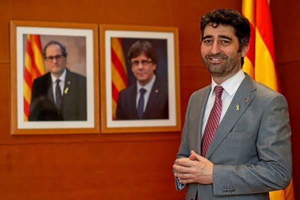Jordi Puigneró, consejero de Políticas Digitales de la Generalitat