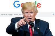 Trump declara la guerra a Google y le acusa de perjudicarlo ante las elecciones presidenciales