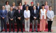 Foto de familia del nuevo Gobierno de Navarra.