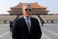 Beijing (China).- Colombian President Ivan <HIT>Duque</HIT> Marquez visits the Forbidden City in Beijing, China, 30 July 2019. Marquez is on a state visit to China from 28 July to 31 July 2019. EPA/